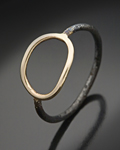 Metal Ring by Peg Fetter