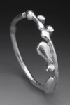 Silver Ring by Peg Fetter