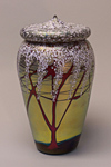 Art Glass Jar by Carl Radke