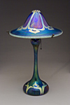 Art Glass Lamp by Carl Radke