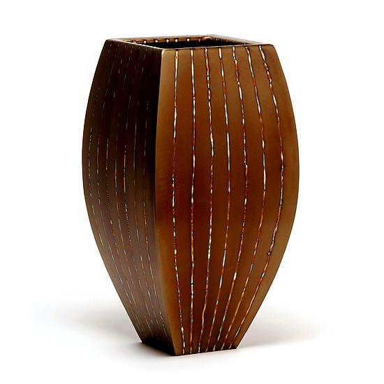 Mantle Vase - Metal Vases and Vessels - by Michael Szabo