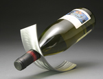 Metal Wine Rack by David Sleightholm
