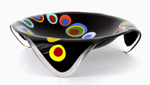 Art Glass Bowl by Ed Edwards
