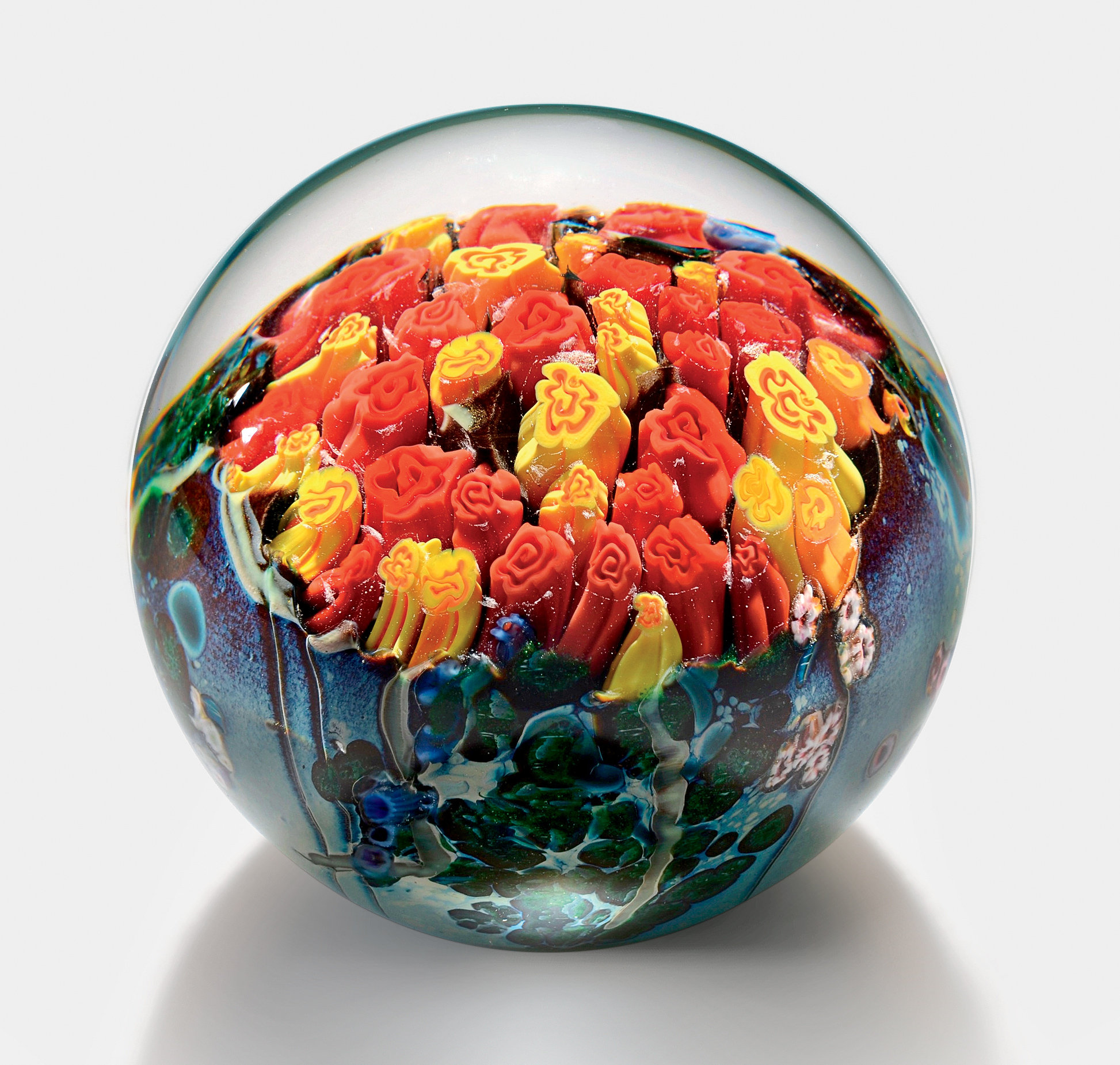 Landscape Series Paperweight - Large - Art Glass Paperweight - by Shawn Messenger