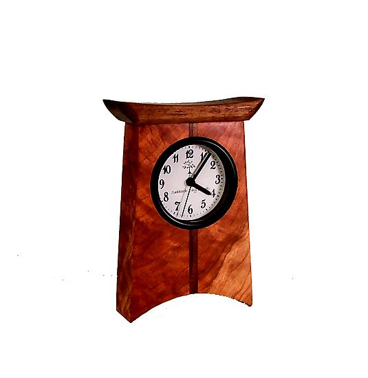 East of Appalachia Desk Clock - Wood Clock - by Desmond Suarez