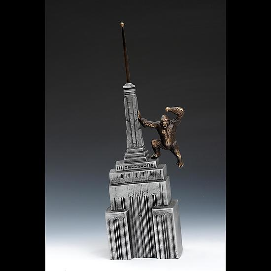 King Kong coin bank - Metal Sculpture - by Scott Nelles