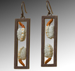 Silver or Gold Earrings by Carolyn Tillie
