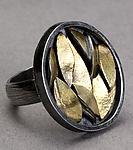Gold & Silver Ring by Lori Gottlieb