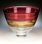 Art Glass Bowl by David Russell