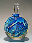 Art Glass Perfume Bottle by Robert Burch