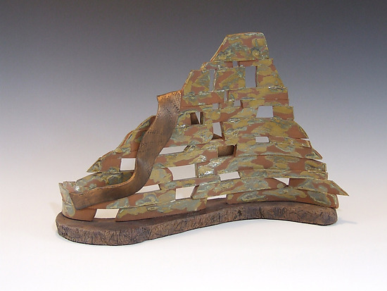 Sedona Spirit - Ceramic Sculpture - by Ken Drolet