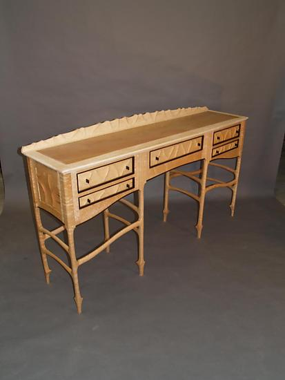 Stone Top Sideboard - Wood Sideboard - by John Wesley Williams