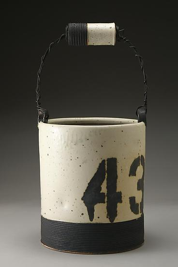 Ice Bucket No. 43 - Ceramic Vessel - by Nathan Falter