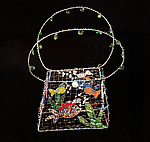 Metal & Glass Purse by Sally Prangley
