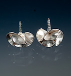 Silver Earrings by Sadie Wang