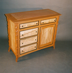 Wood Cabinet by John Wesley Williams