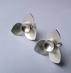 Silver Earrings by Moira Lime