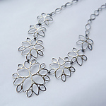 Silver Necklace by Moira Lime
