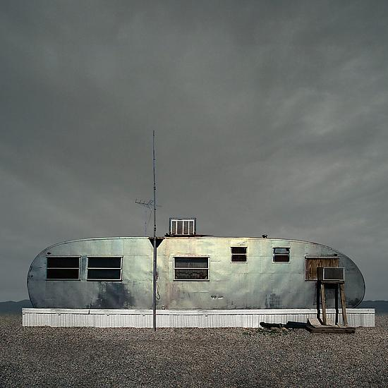 Airstream Trailer - Color Photograph - by Ed Freeman