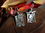 Silver Earrings by Rone' Prinz