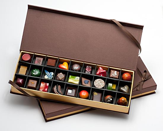 hocolates: 27 Piece Bo - Artisanal Chocolate - by DB Infusion Chocolates