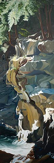 The Gorge - Giclee Print - by Robert Steinem