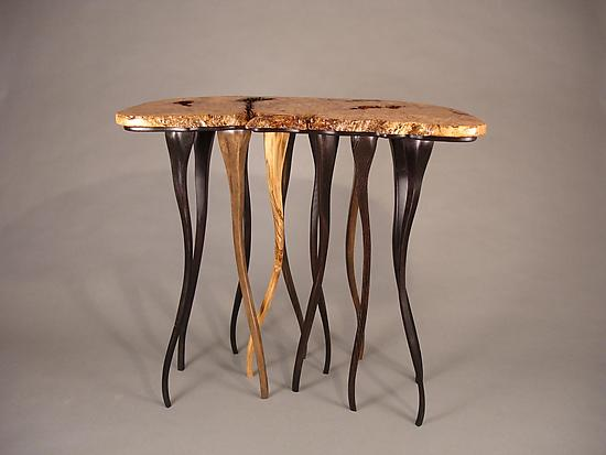 Takes All Kinds - Wood Console Table - by Bill Palmer