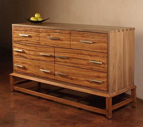 The Zebra Dresser - Wood Dresser - by Aren Irwin