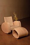 Wood Rocking Chair by Aren Irwin