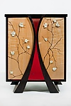 Wood Cabinet by Alison Swann-Ingram