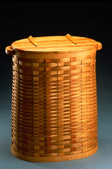 Large Hamper - Wooden Hamper - by Keith Raivo