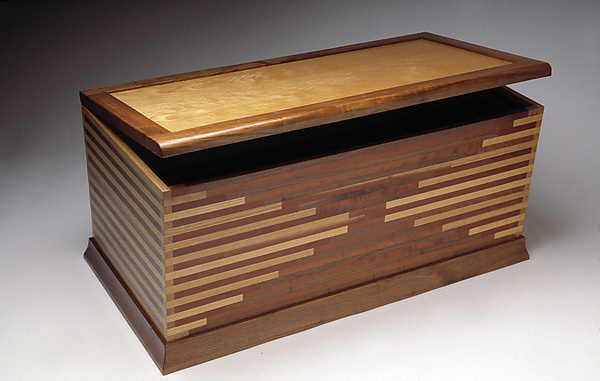 Blanket Chest - Wood Chest - by Seth Rolland