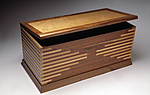 Wood Chest by Seth Rolland