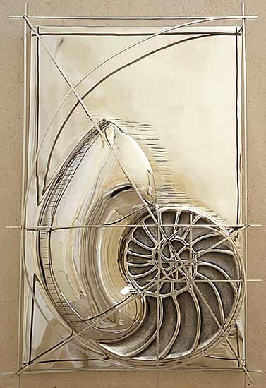 Nautilus - Metal Sculpture - by Gerald Siciliano