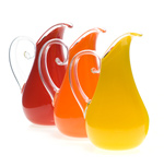 Art Glass Pitchers by Cal Breed
