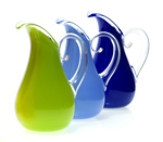 Art Glass Pitcher by Cal Breed