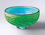 Art Glass Bowl by Thomas Kelly