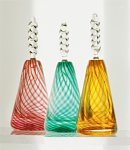 Art Glass Perfume Bottle by Mark Rosenbaum