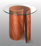 Wood End Table by Richard Judd