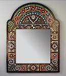 Mosaic Mirror by Carl Bryant