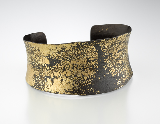 Twilight Cuff - Iron & Gold Cuff - by Pat Flynn