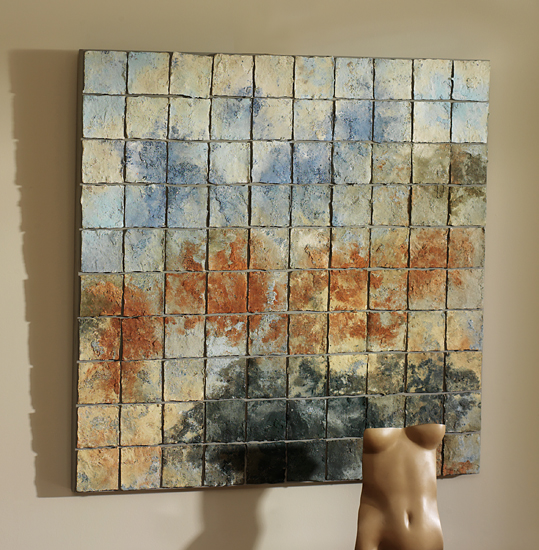 Color Study - Ceramic Wall Art - by Elizabeth MacDonald