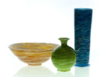 Art Glass Bowl by Cal Breed