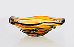 Art Glass Vessel by Cal Breed
