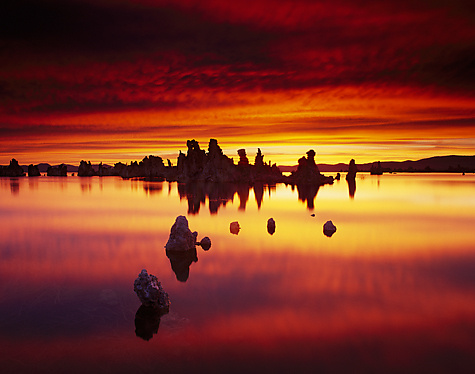 Fire In The Sky - Color Photograph - by Michael McAreavy