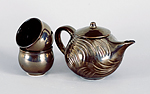 Ceramic Tea Set by Judith Weber
