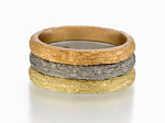 Gold Stacking Ring by Susan Barth