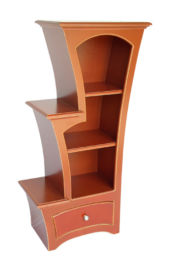 Bookcase No.7 - Wood Bookcase - by Vincent Leman