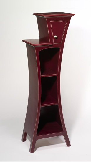 Cabinet No.4 - Wood Cabinet - by Vincent Leman