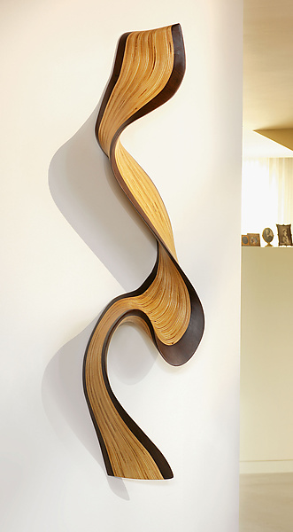 Wallwave - Wall Sculpture - by Kerry Vesper